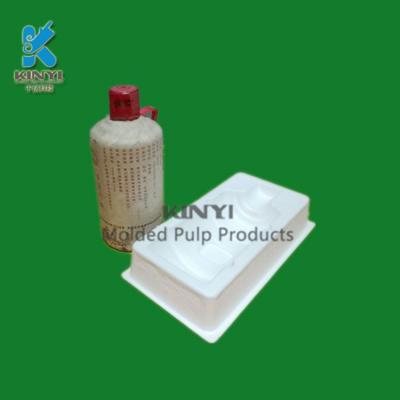 fragile pack eco friendly molded pulp packaging for fragile goods kinyi